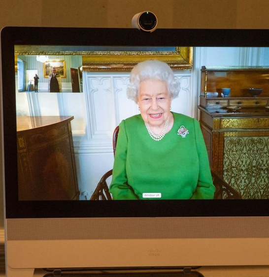 The Queen has already submitted 130 official photos;  And he loves photography.  (Photo: Instagram / theroyalfamily)