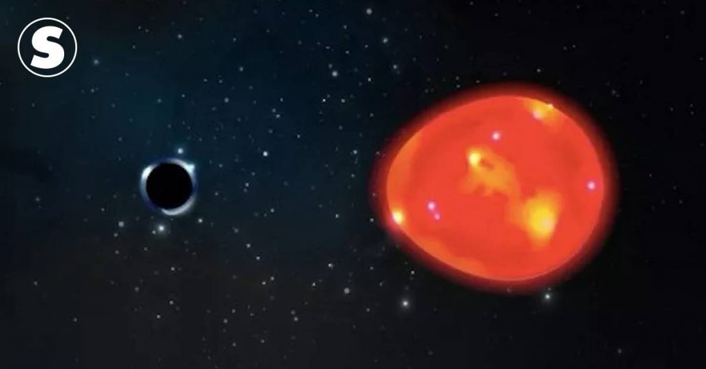 One of the smallest black holes ever discovered is very close to Earth