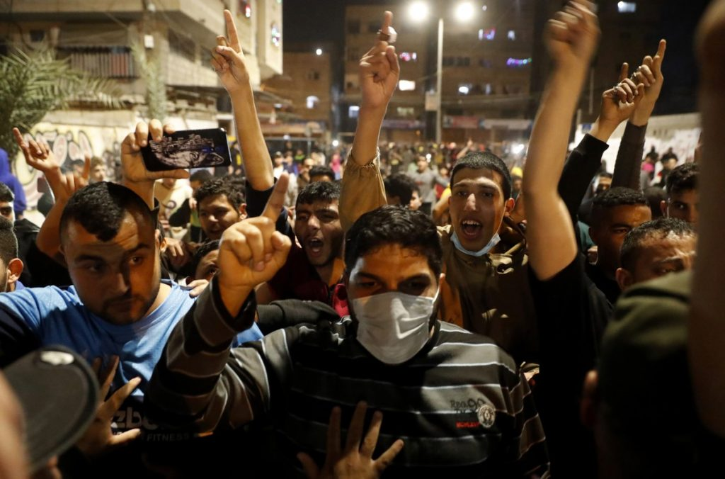Clashes between Palestinian protesters and security forces in Israel |  Scientist