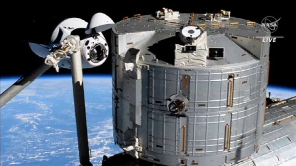 NASA astronauts arrive at the International Space Station aboard the SpaceX spacecraft |  The National Gazette