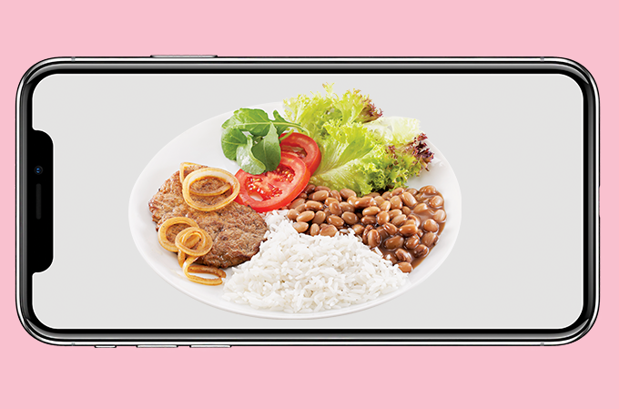 Take a picture of your plate and help the flag