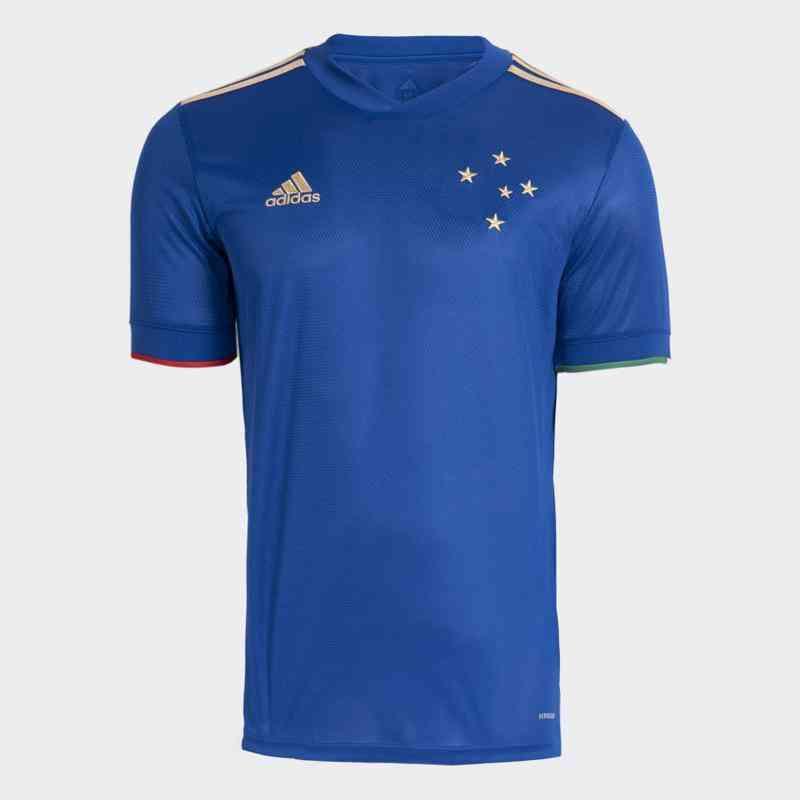 Details of Cruzeiro's new uniform, Lan