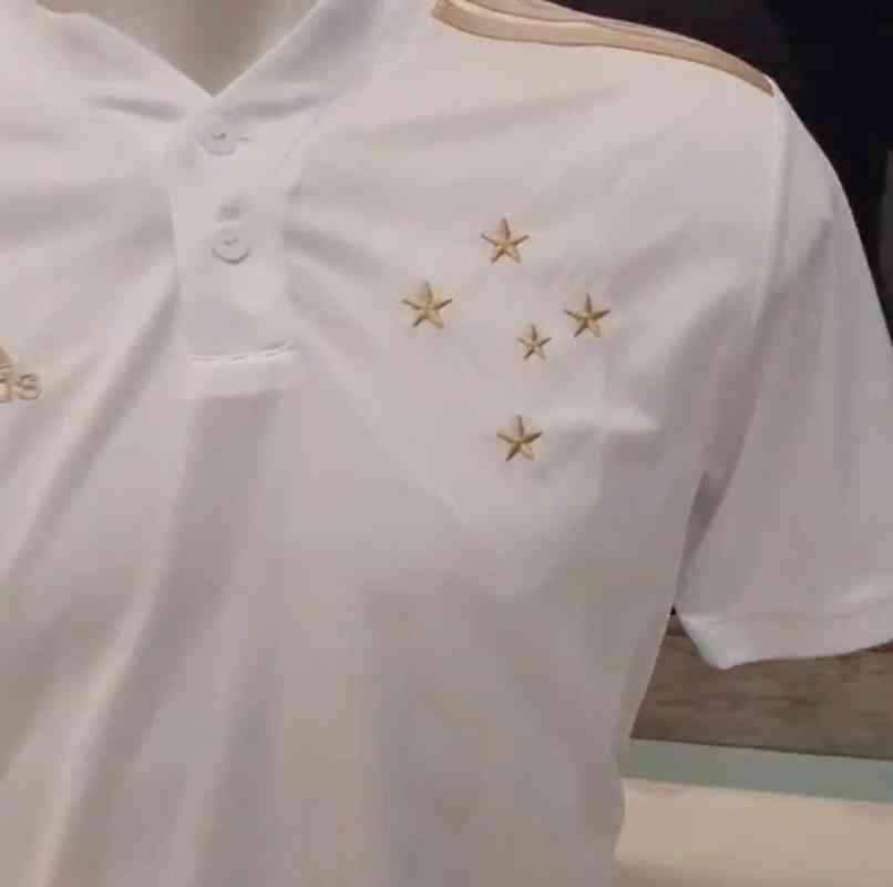 Check out the photos of Cruzeiro's new white shirt