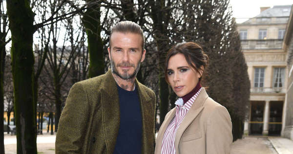 David and Victoria Beckham returned to the UK after a season in the US