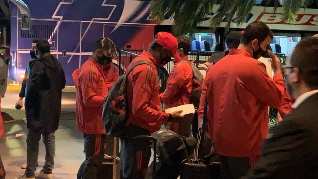 Flamengo arrives in Buenos Aires for the first time in Libertadores against Velez Sarsfield |  Flamingo
