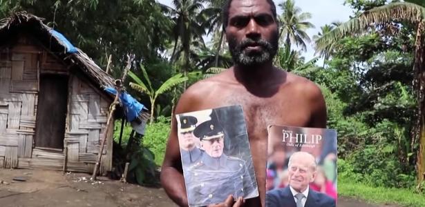 Prince Philip is honored as a Vanuatu theologian