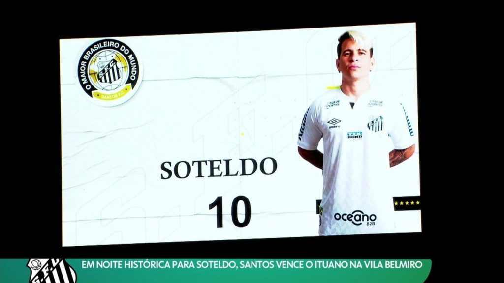 """Soteldo reveals his desire to sell Santos: """"An Offer I Can't Turn Down"""" 