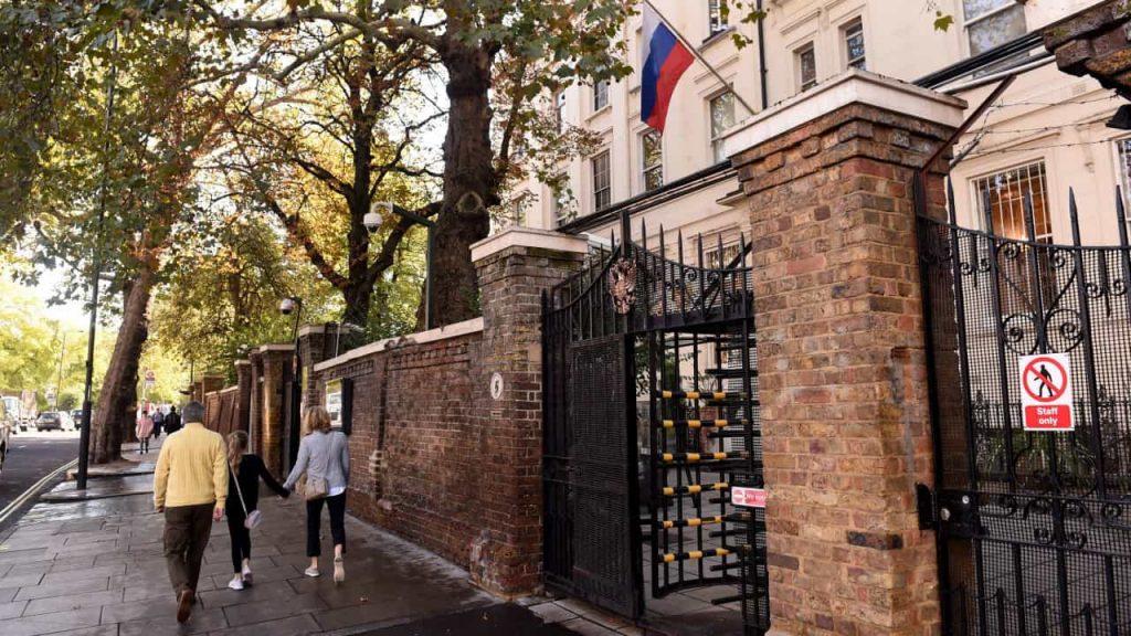 UK summons Russian ambassador over cyber attacks