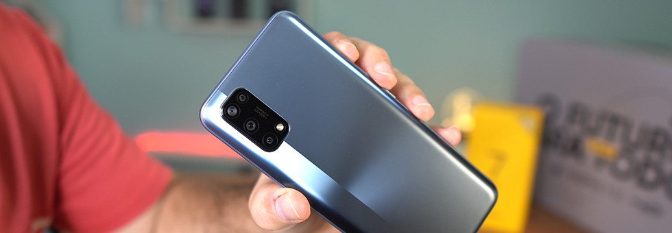 realme 7 5G: Is the cheapest 5G cell phone in Brazil also the best?  |  analyzing