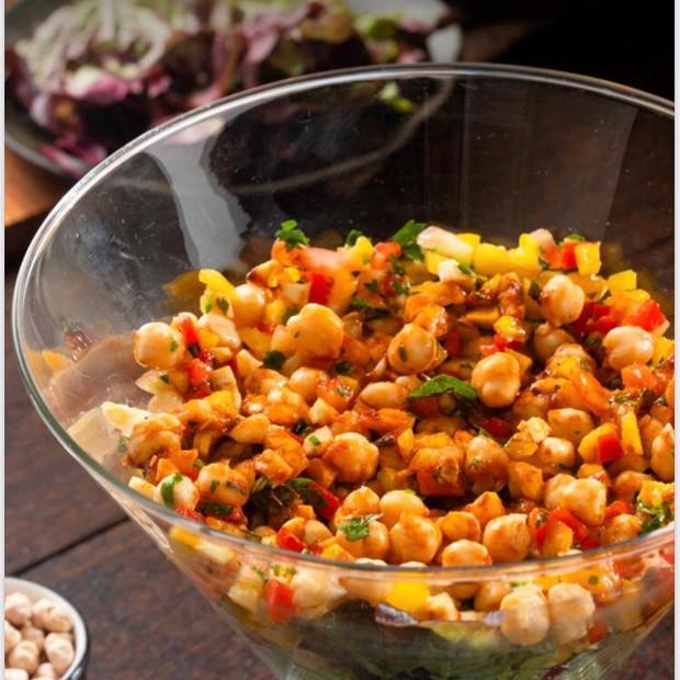 Hummus Salad (Photo: Reproduction)