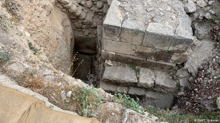 Excavations at Mount Zion in Jerusalem.