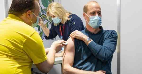 Covid-19: At age 38, Prince William is vaccinated in the United Kingdom - International.