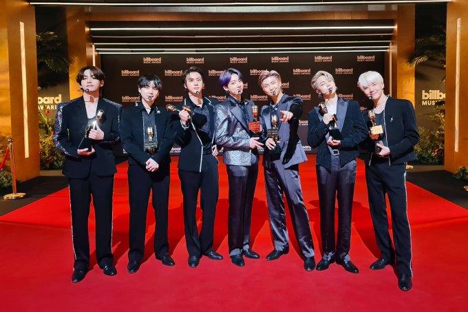 Winner in 4 categories, BTS makes history at Billboard Music Awards