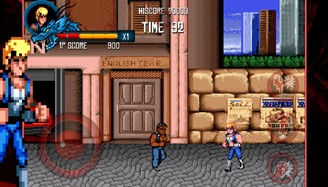 The top three games are available in the Double Dragon franchise for iOS and Android