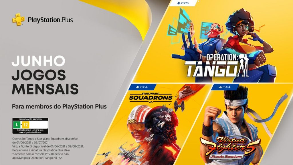 PS Plus subscribers will receive the operation: Tango, Virtua Fighter 5, and Star Wars: Squadrons in June 2021.