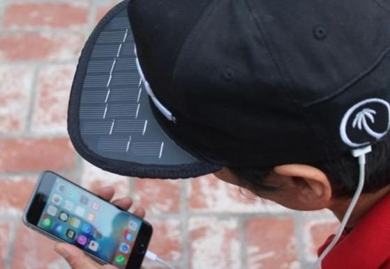 An American company manufactures a cover to charge a cell phone with solar energy