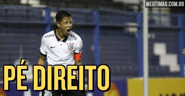 Corinthians beat the Internacional and make their debut by winning the Brazil U-17 Championship