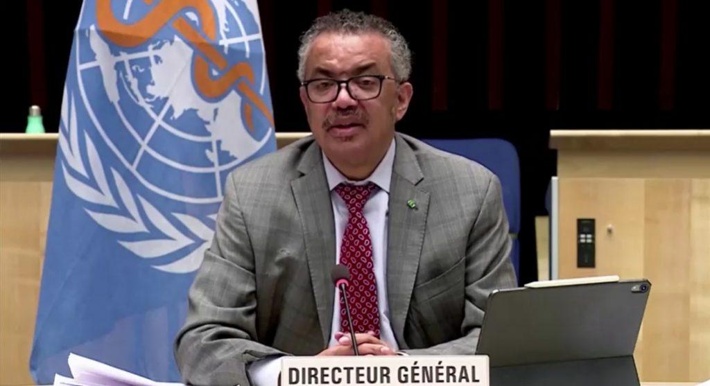 Tedros Adhanom Ghebreyesus, diretor geral da OMS