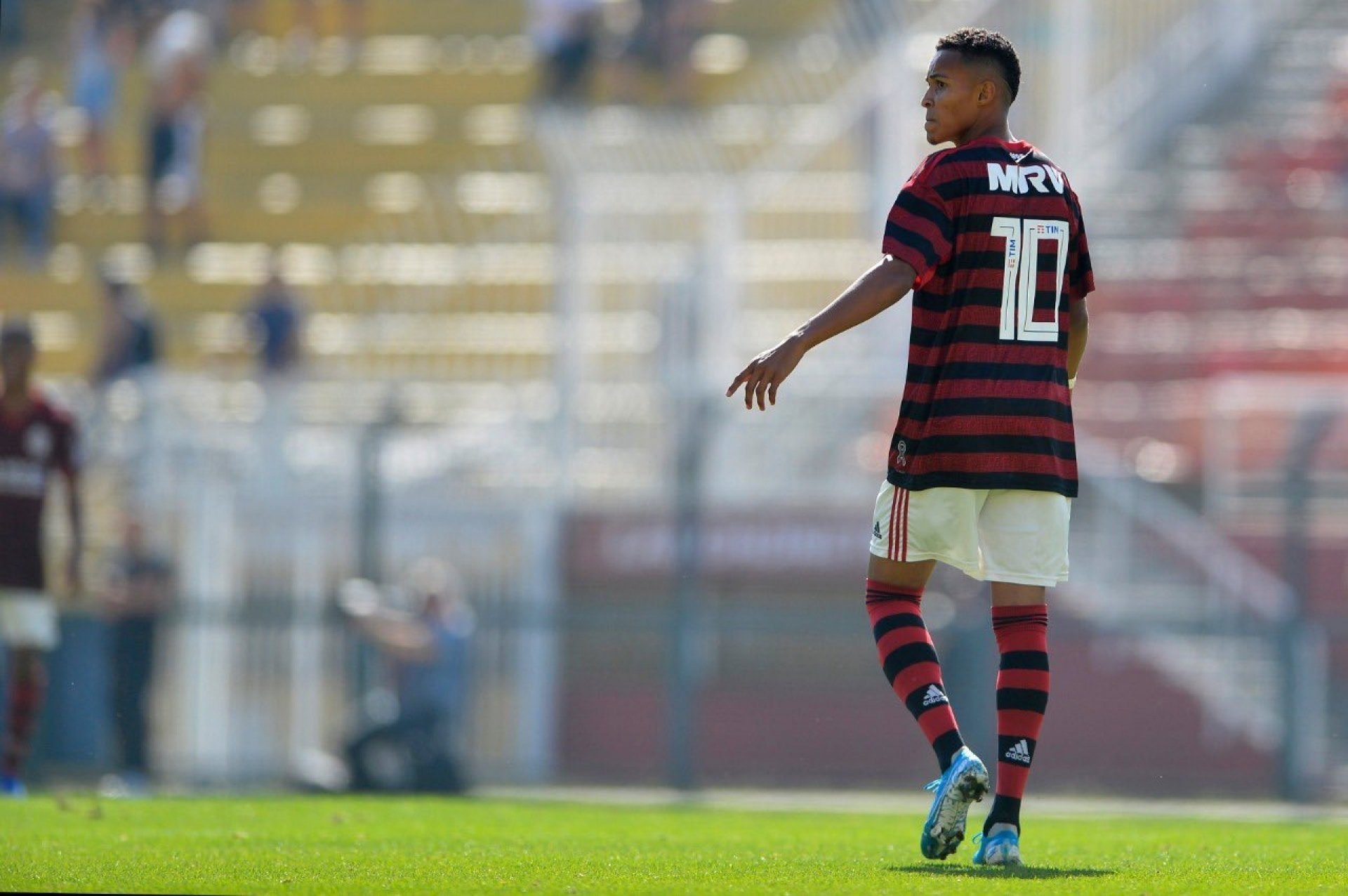 Lázaro is set as the newest gem on the Flamengo base - the clone