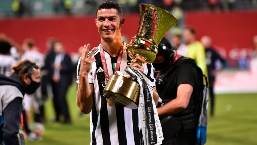 """""""I have already achieved all the goals that I set when I arrived in Italy,"""" says Cristiano Ronaldo."""