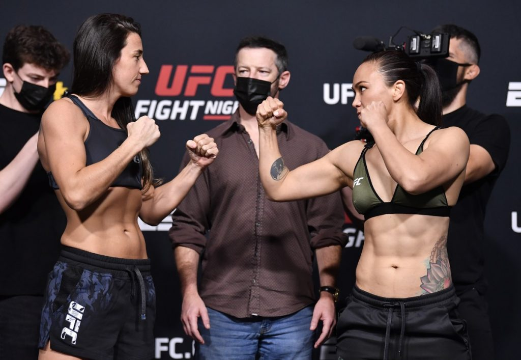 In UFC for less than three years, Marina Rodriguez leads an event against Watterson on Saturday    Fighting