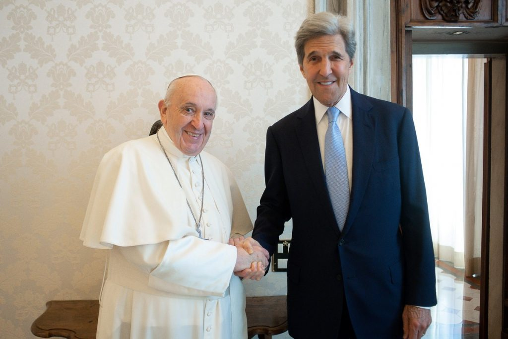 Kerry says Vatican wants US to attend Pope Climate conference  Natural