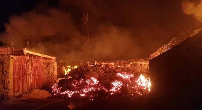 Lava from Nverragongo volcano stops moving after an eruption of the Democratic Republic of the Congo volcano - news