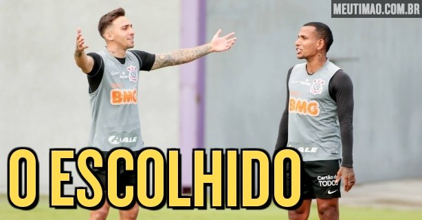 Majority of Corinthians fans ask for a striker at Wagner's venue;  The cannons appear next