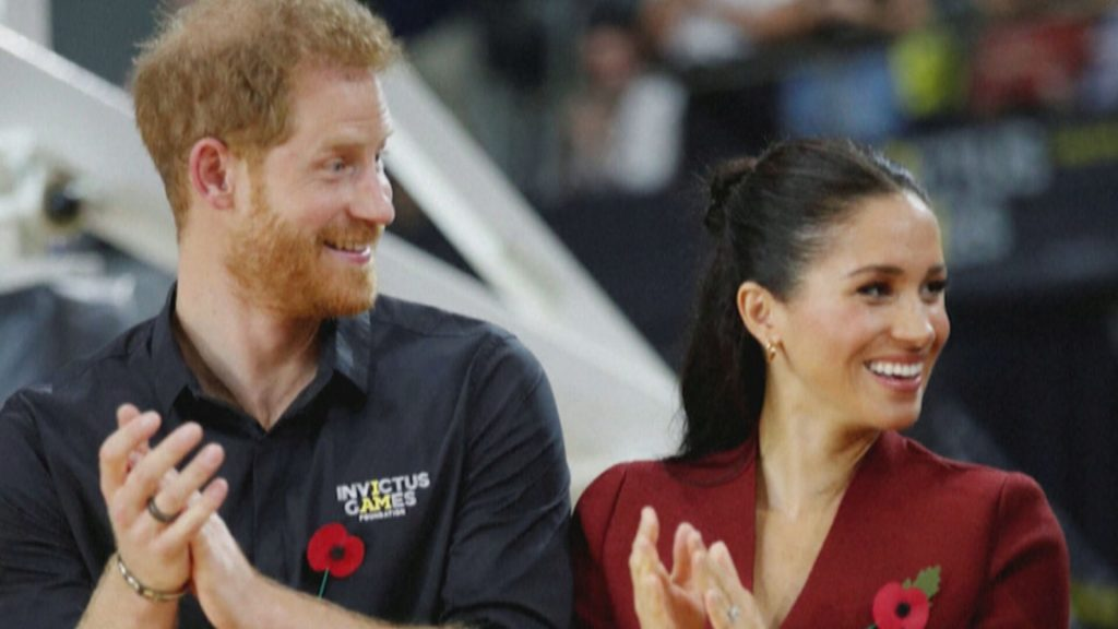 Príncipe Harry e Megan Markle