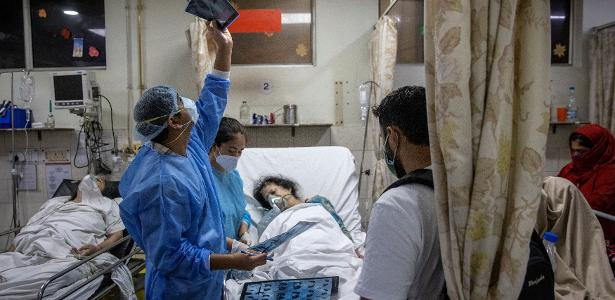 The 27-hour routine of a young doctor in India ravaged by the Coronavirus