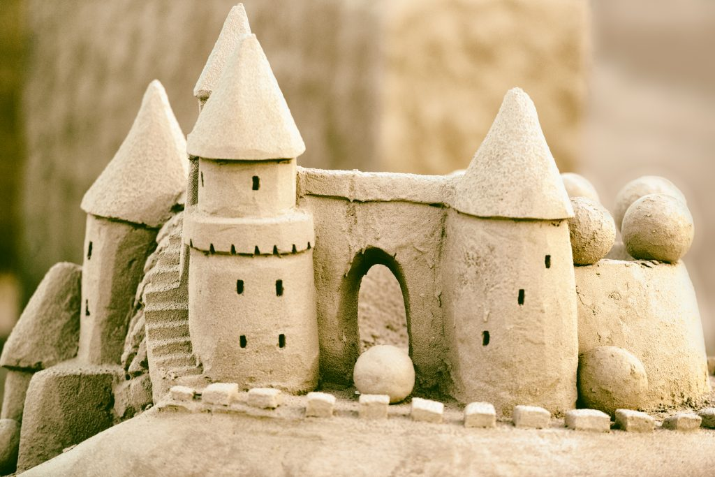 The science behind building sand castles