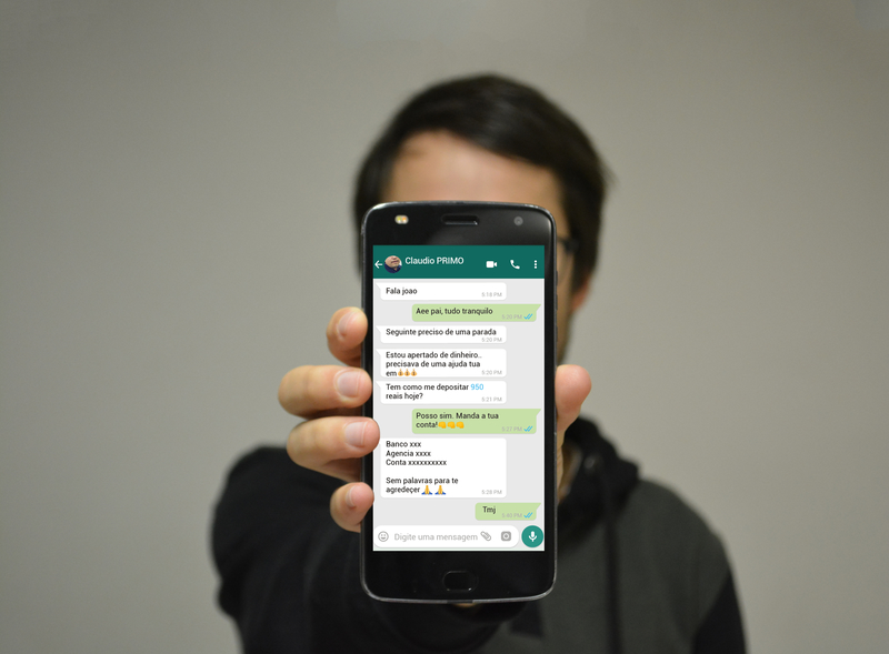 Victim defrauded by fraudster and quitting profit after attempting to overthrow WhatsApp
