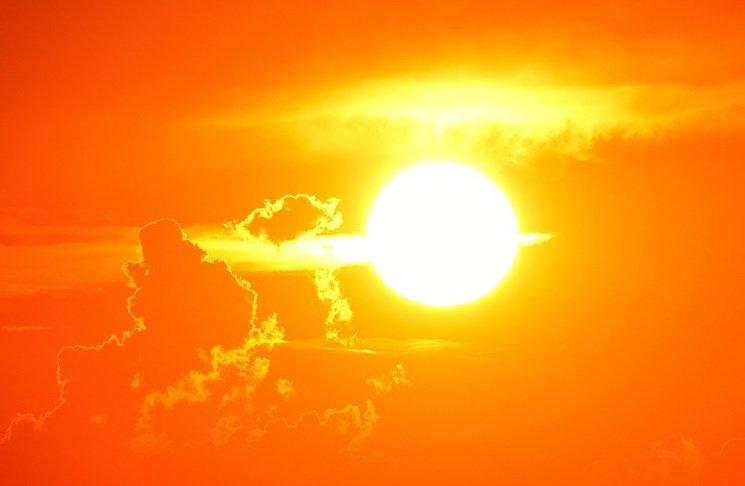 sol de verão