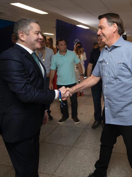 Capoclo and Bolsonaro - Lucas Figueiredo / CBF - Lucas Figueiredo / CBF