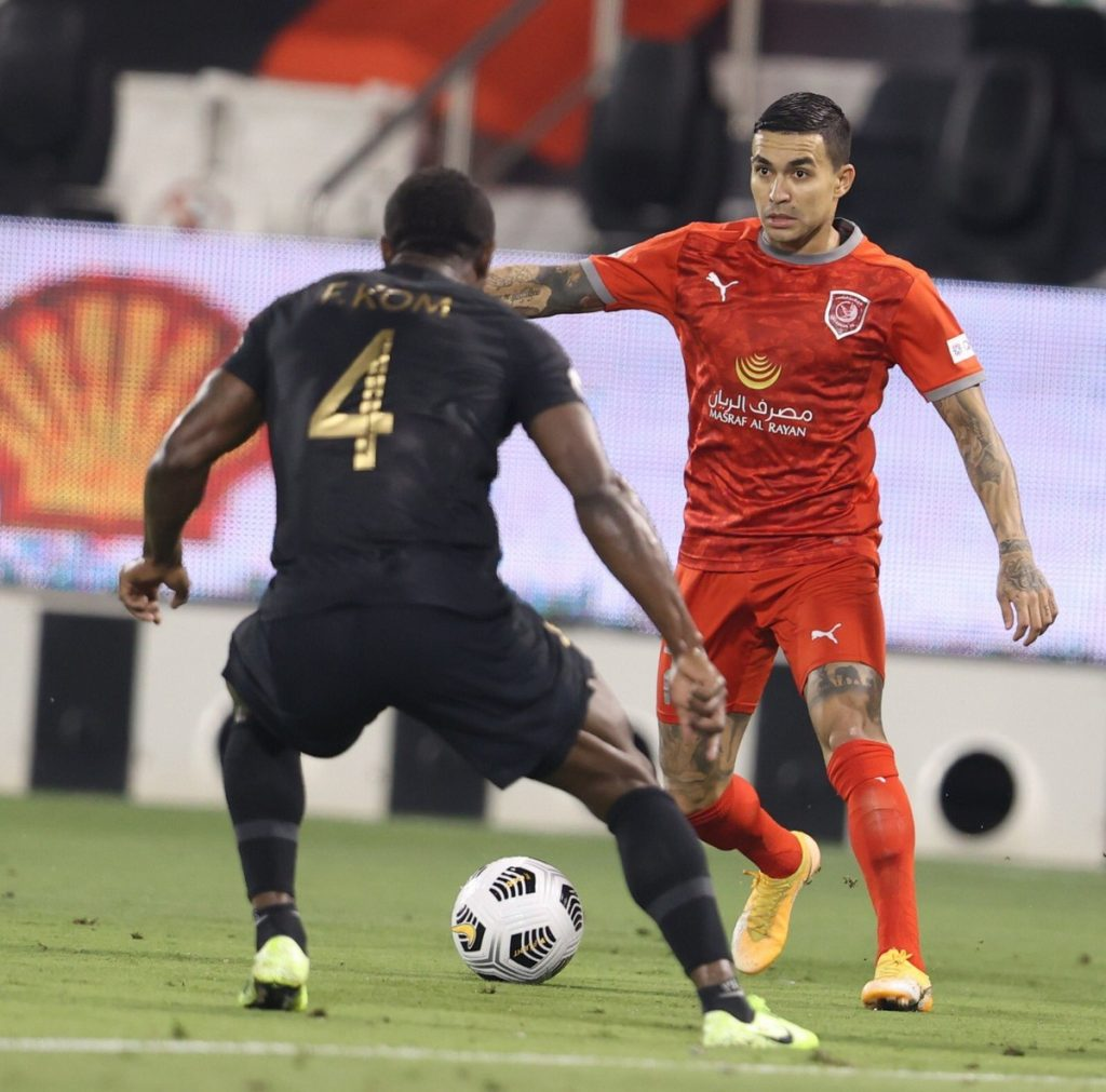Al Duhail bids farewell to Dudu and Palmeiras may try to anticipate the return of the striker |  Palm trees