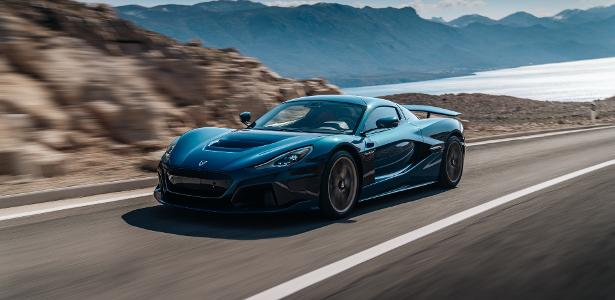 With 1,940 hp, the Rimac Never goes from 0 to 100 km/h in 1.85
