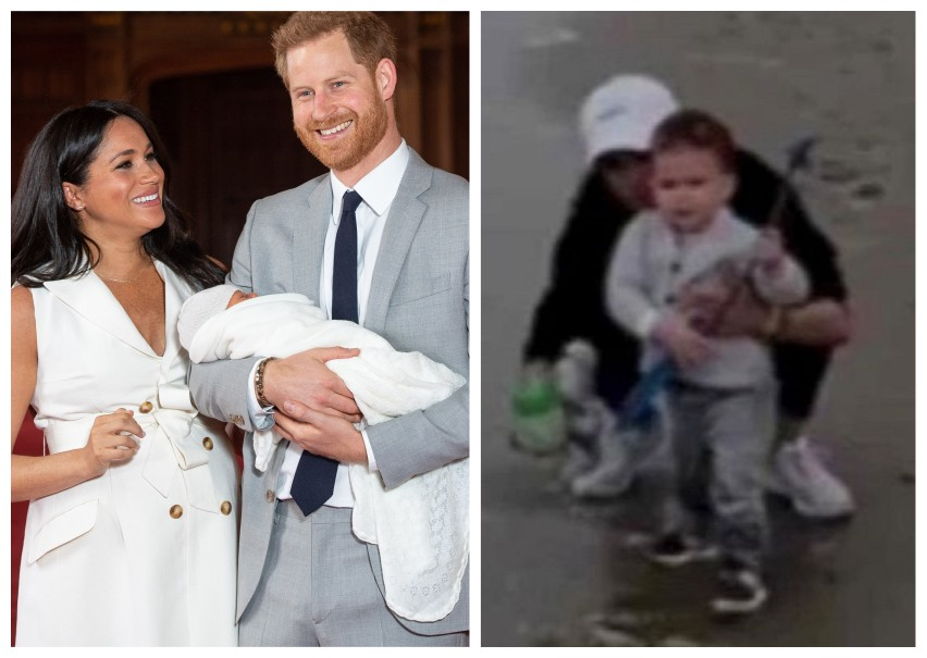 Prince Harry and actress Meghan Markle introduce their son Archie to the world at Buckingham Palace in May 2019 and record the baby in the documentary The Me You Cant See (Image: Getty Images/Reproduction)