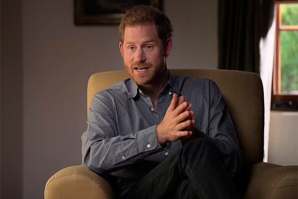 Prince Harry at his participation in the documentary series The Me You Can See (Image: Publicity)