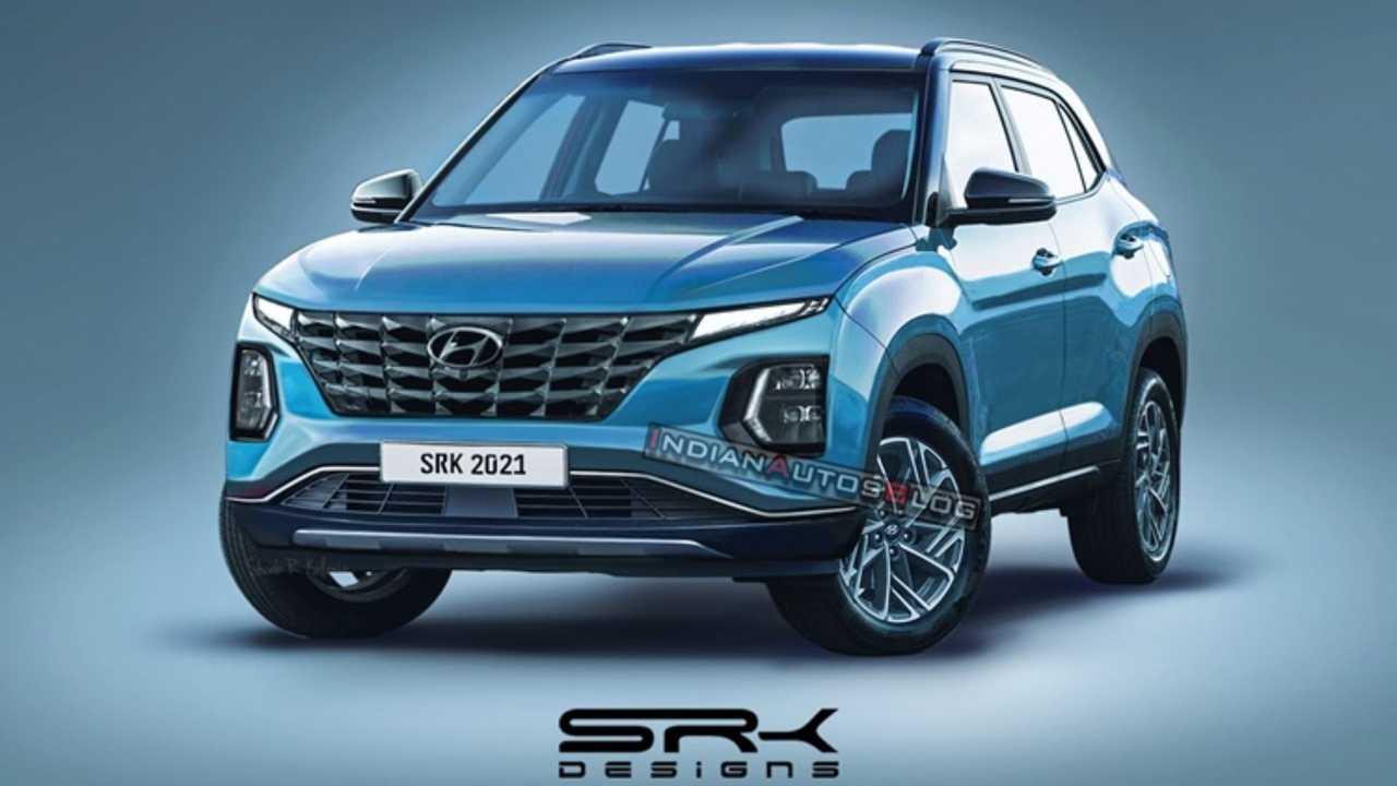 New Hyundai Creta face-lift - projection