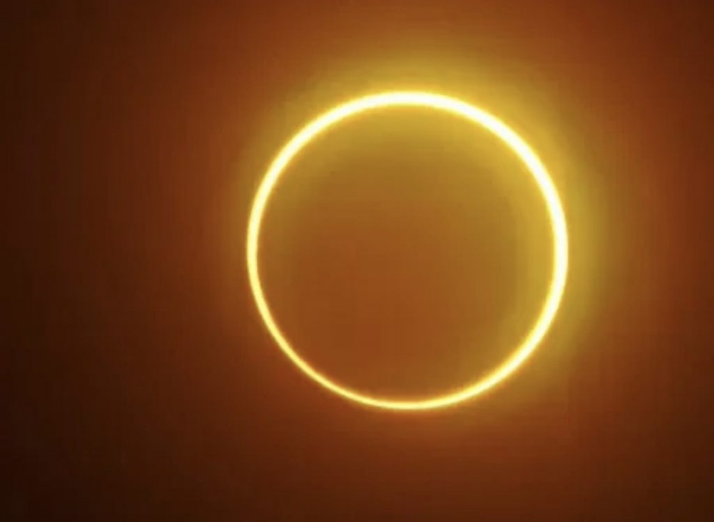 """The solar eclipse will form a """"ring of fire"""" around the moon on Thursday.  See how to follow 