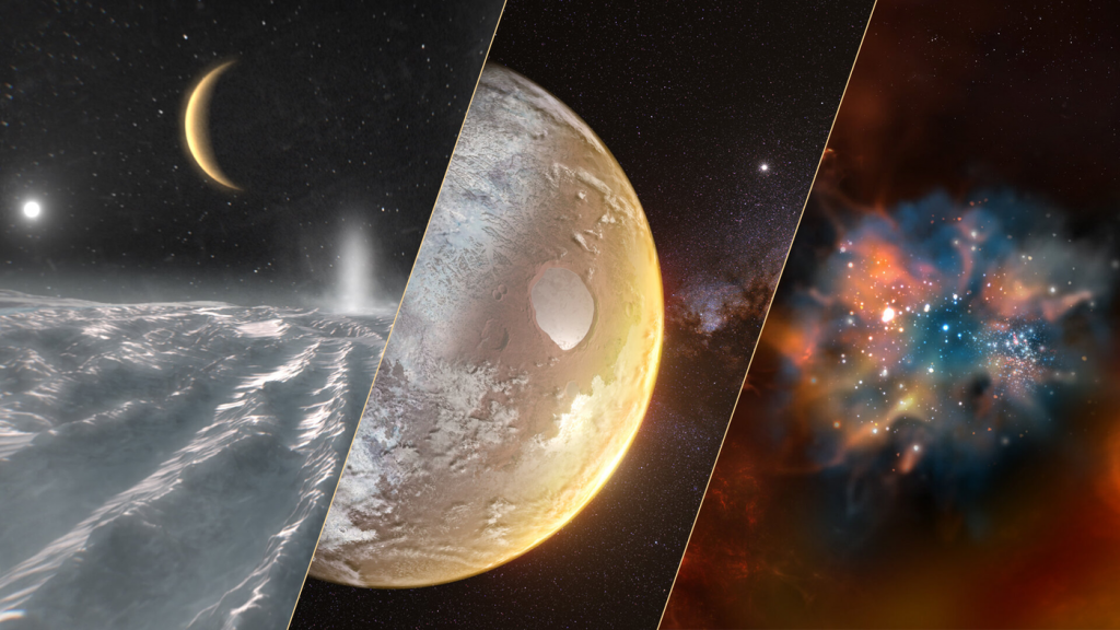 The European Space Agency selects important topics for the coming decades