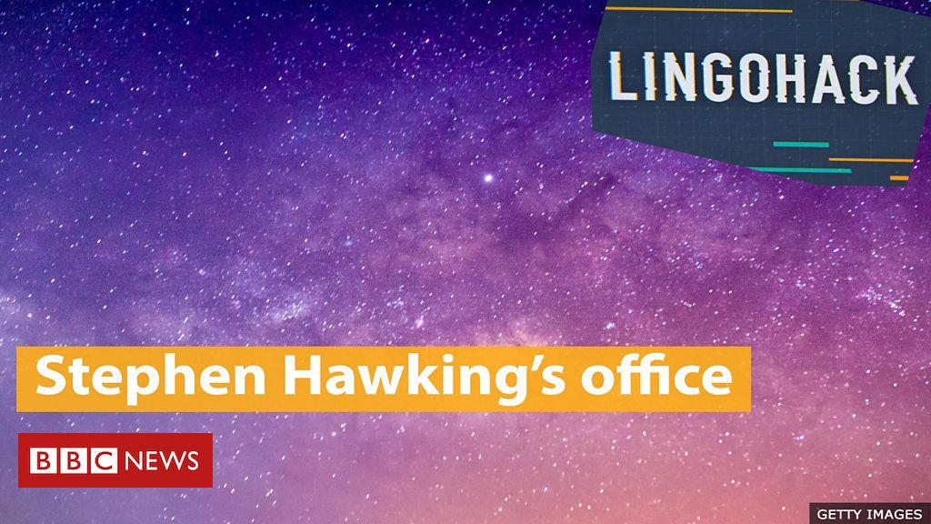 London Science Museum rebuilds Stephen Hawking's office