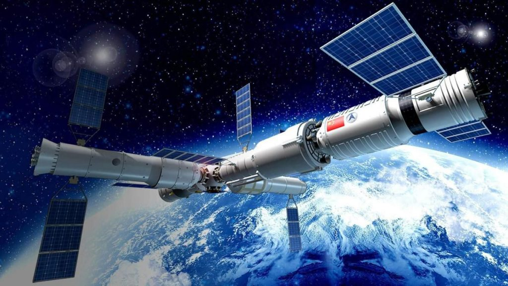 Learn about the location of the Chinese space station and how to observe it in the night sky