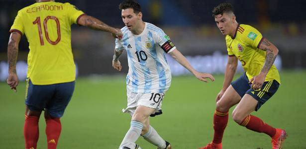 Argentina opened 2-0 but Borja drew with Colombia in stoppage time