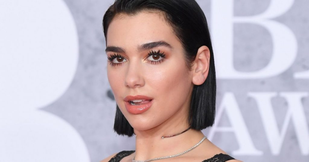 Dua Lipa is recognized as the most played artist in the UK by 2020