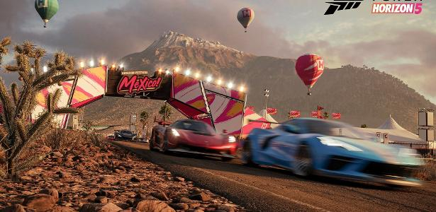 Forza Horizon 5 was chosen as the best game at the event