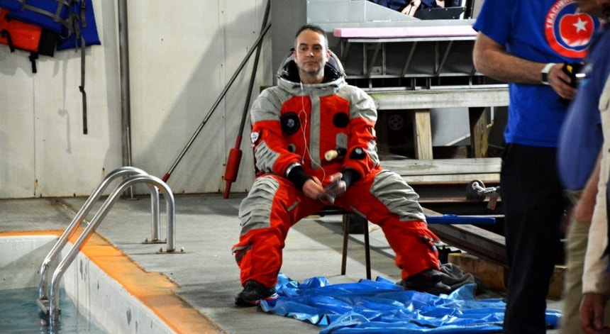 Geophysicist Roy Mora is an astronaut candidate because doing science in space is 'superior'
