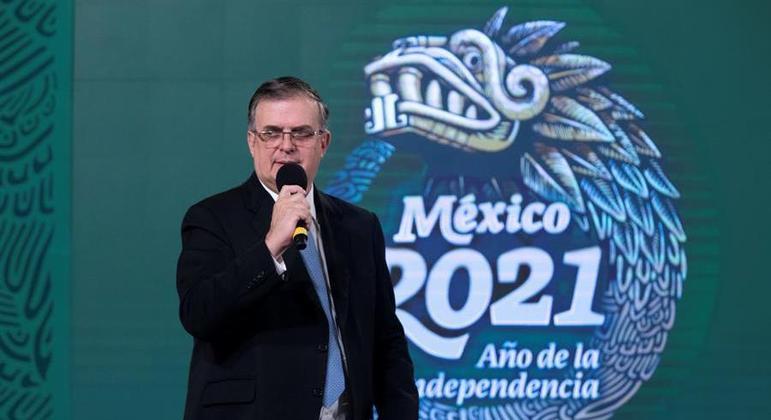 Pedido foi feito por Marcelo Ebrard, ministro das Relações Exteriores do México