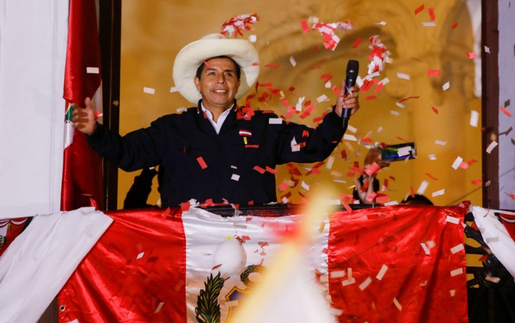 Peru completes official counting in presidential elections, Castillo leads   في  Scientist