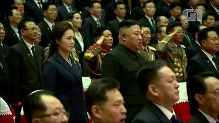 Kim Jong-un's wife appears in rare public in North Korea in February 2021